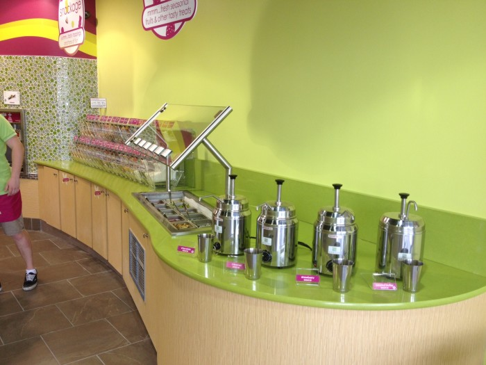 Menchie's Barrhaven Fruits and Sauces