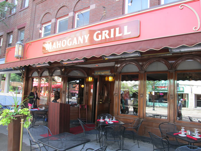 mahogany grill ithaca