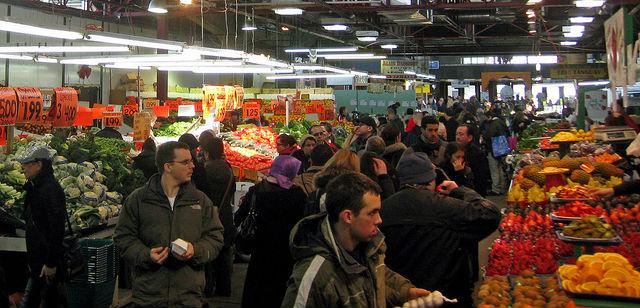 Jean-Talon Farmers Market Montreal
