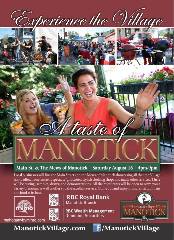 A taste of Manotick