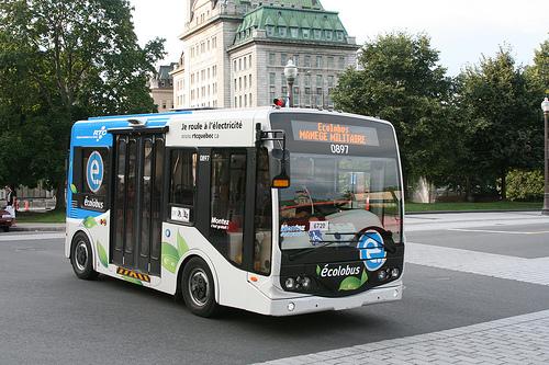 Quebec city Ecobus