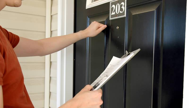 Door to door salesmen