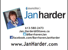 Barrhaven Councillor Jan Harder