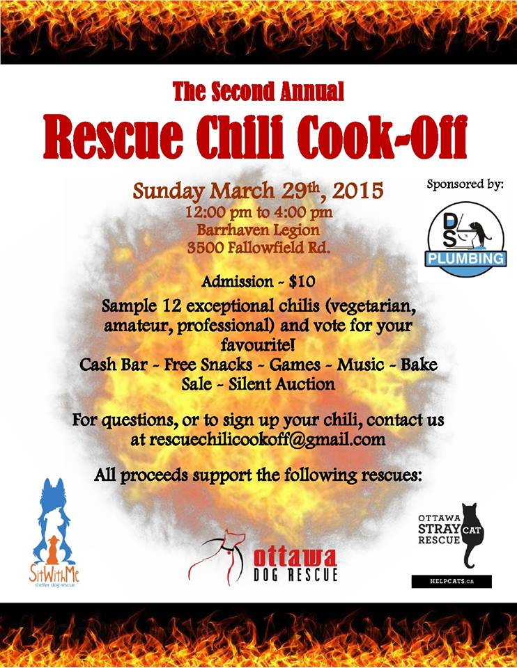 Barrhaven Chili Cook Off