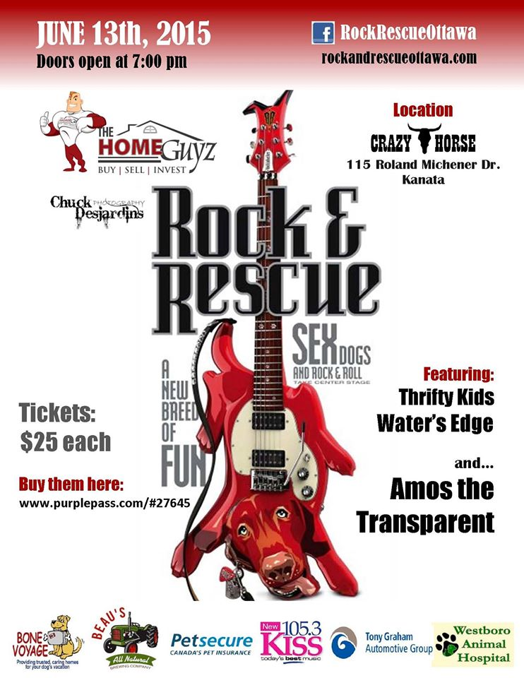 Ottawa Rock & Rescue fundraiser