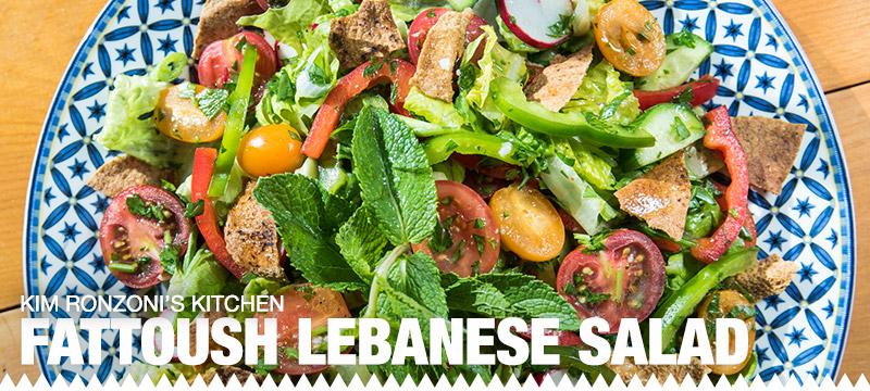 Kim Ronzoni's Lebanese Salad