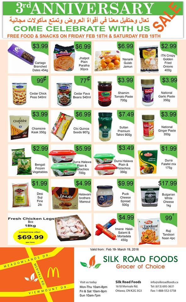 Silk Road Foods Nepean
