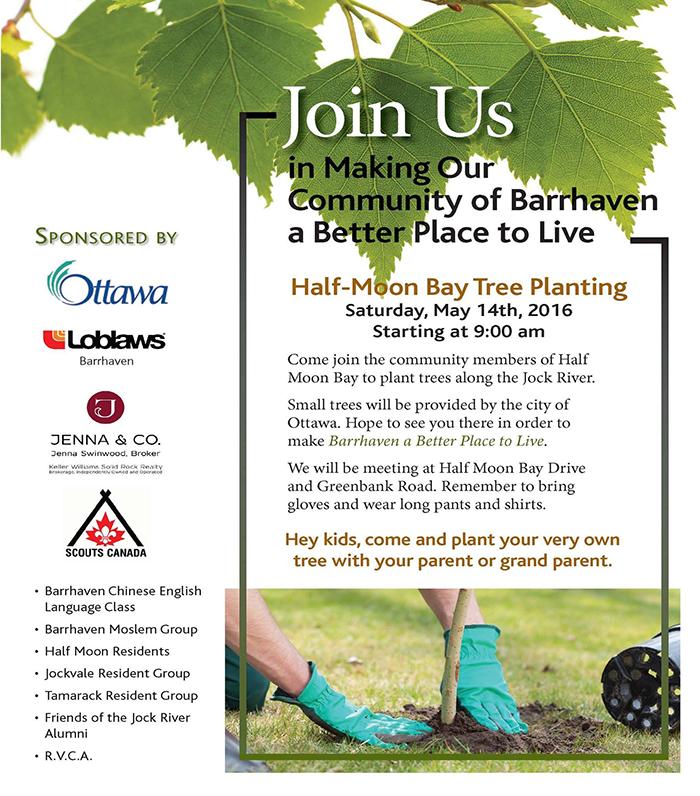 Barrhaven Tree Planting Event
