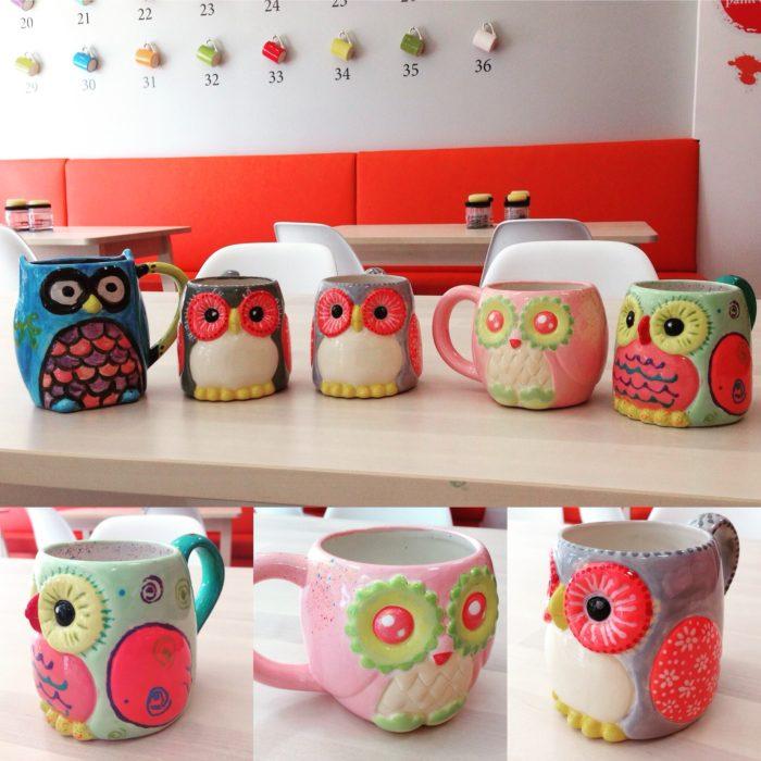 Barrhaven Ceramic Cafe Customers
