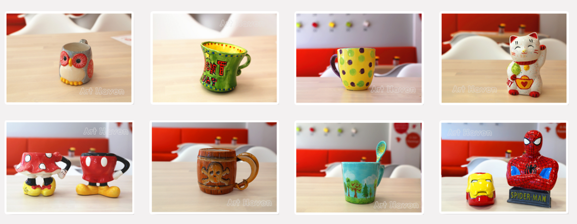 Art Haven Barrhaven Sample Ceramic Products