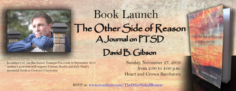 Barrhaven book launch - The Other Side of Reason - David B. Gibson