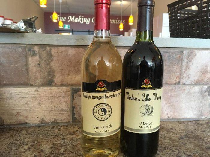Make your own wine - Barrhaven Ottawa Vintner's Cellar