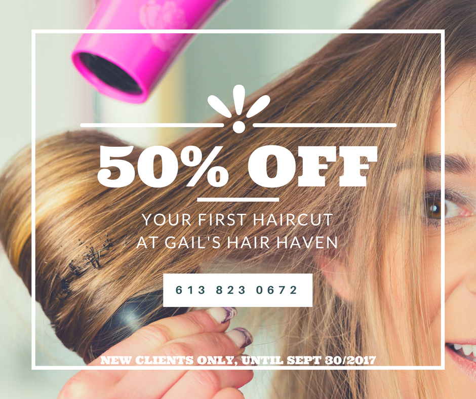 Barrhaven Hair Care Salon Discount Coupon