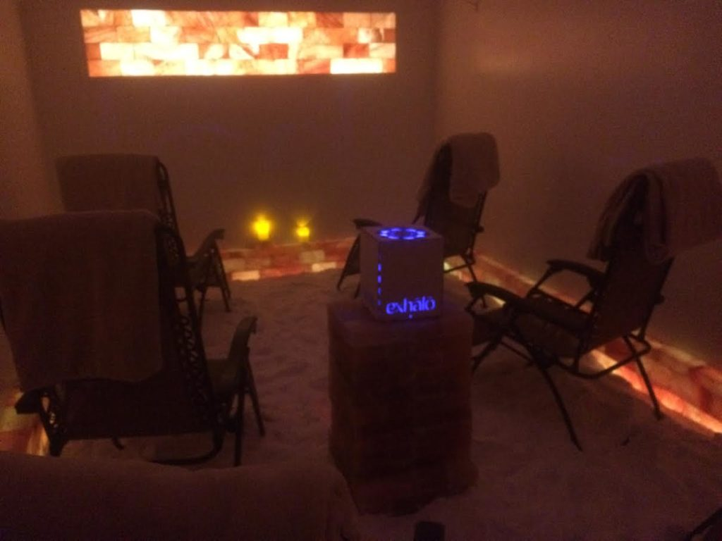 Barrhaven Spa Salt Room Therapy