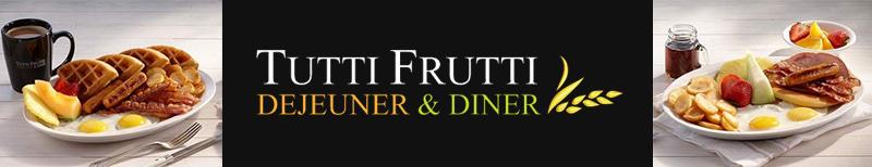 Tutti Frutti Barrhaven Breakfast Lunch Restaurant