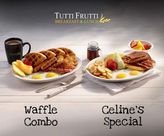 Tutti Frutti Breakfast Golden pancakes and French Toast - Barrhaven