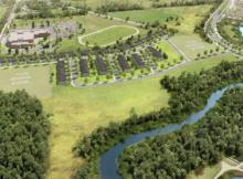 Minto Barrhaven site plan Riversbend at Harmony