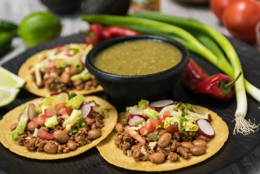 Kim Ronzoni Turkey and Bean Taco Recipe