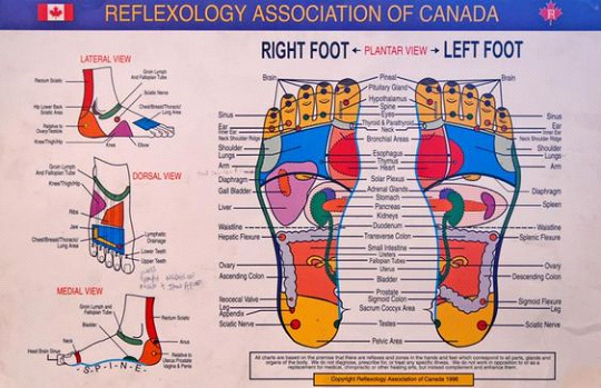 Barrhaven Foot Reflexology Treatment