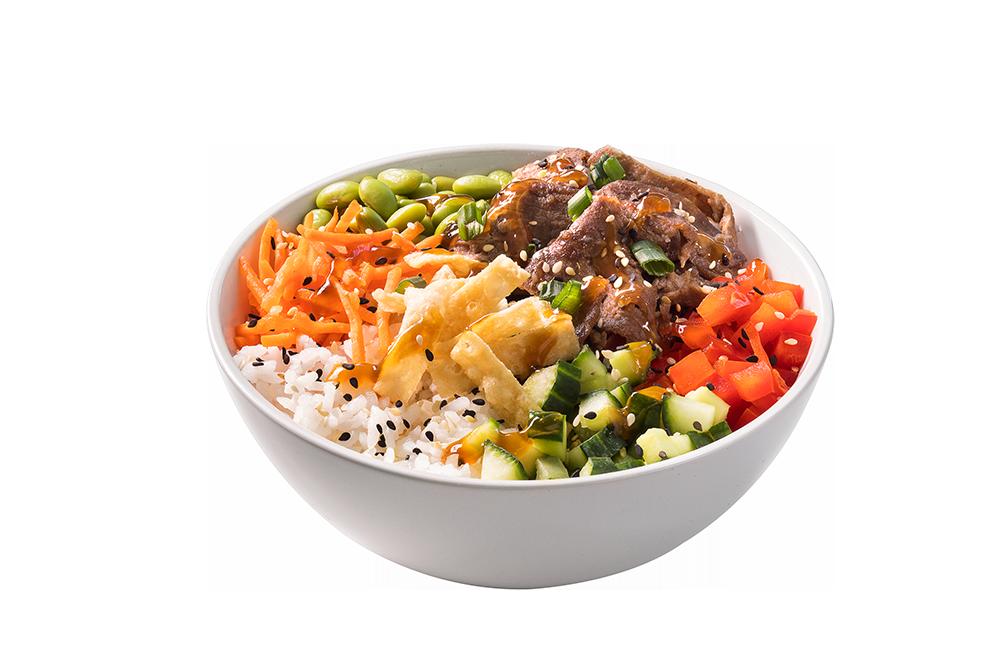 EDO Japan Barrhaven Beef Chop Chop Bowl