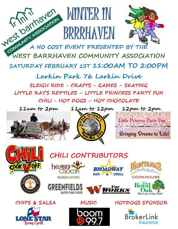 West Barrhaven Community Association Winter Carnival
