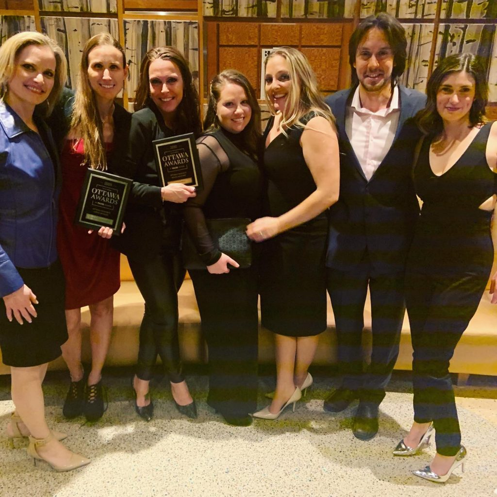 Braces Haven wins favourite dental clinic in Ottawa - Faces Magazine Awards