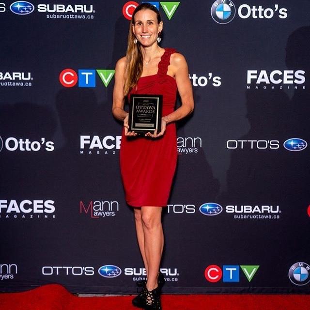 Gabriela Castejon Pulliza of Braces Haven in Barrhaven wins favourite office manager in Ottawa - Faces Magazine Awards