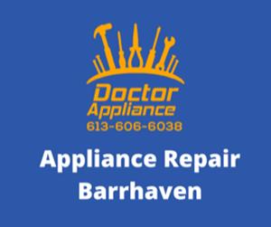 Barrhaven Appliance Repair
