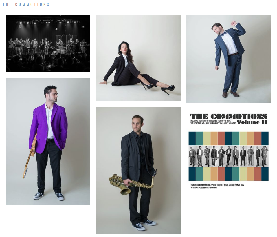 Ottawa Band The Commotions
